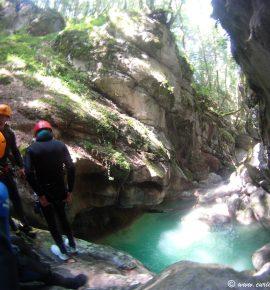 Expérience canyoning dans les Gorges du Furon