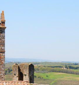 Monteriggioni, la perle de la Toscane