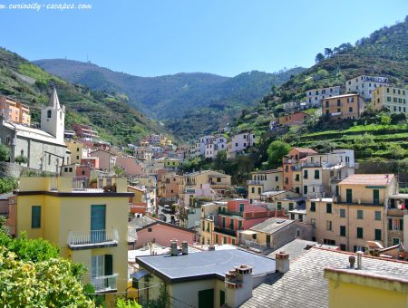 Personal feedback about the Cinque Terre