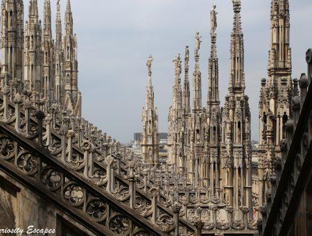 Milan : les toits du Duomo