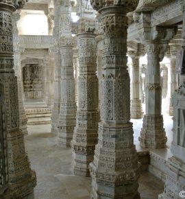 Ranakpur : un incroyable temple au milieu de la jungle