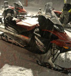 Sensations motoneige aux 2 Alpes
