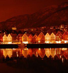 Une journée d'hiver à Bergen