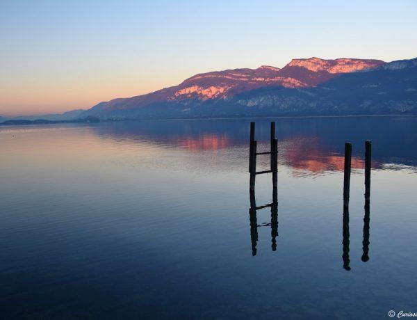 Une journée d'hiver au Lac du Bourget – Savoie