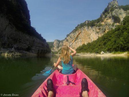 Descente des Gorges de l'Ardèche en kayak [Vidéo]