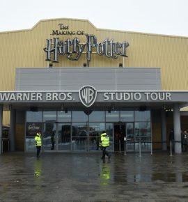 Warner Bros studios : Poudlard sous la neige