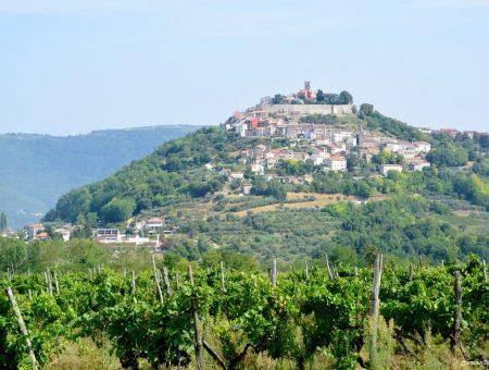 L'Istrie entre terre et mer: Les villages perchés côté terre