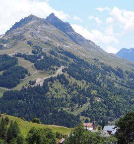 Un été en France, dans les Alpes