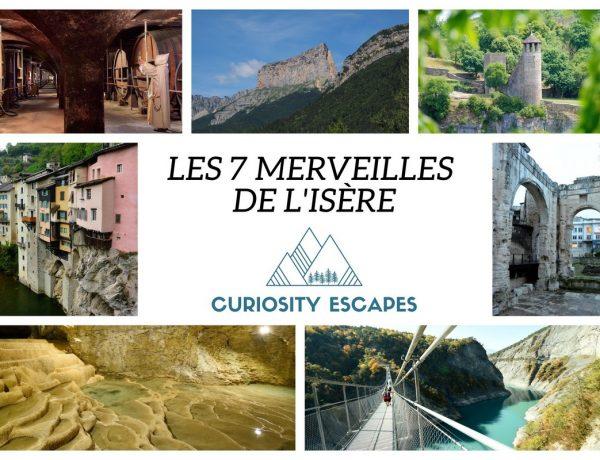Les 7 merveilles de l'Isère